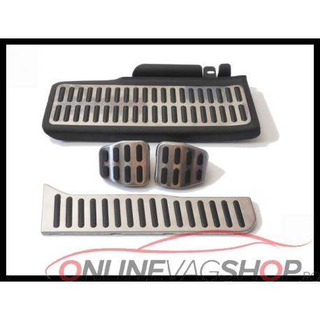 Set Pedale Inox + Footrest pentru VW Passat B6,B7,CC
