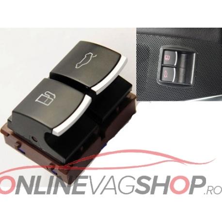 Buton crom deschidere portbagaj si usa rezervor OEM VW Passat B6, CC, B7