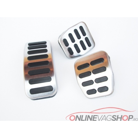 Set pedale Inox pentru gama VW/Audi/Skoda/Seat MANUALA