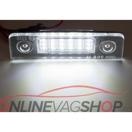 Set Lampi Led numar pt Skoda Octavia 1Z Facelift