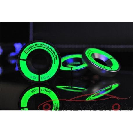 Inel fosforescent contact cheie pentru VW/Skoda/Seat/Audi