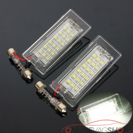 Set lampi led numar BMW X5 E53 , X3 E83