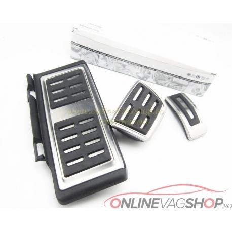 Set Pedale Inox + Footrest  VW Golf 7/Audi A3 /Skoda Octavia