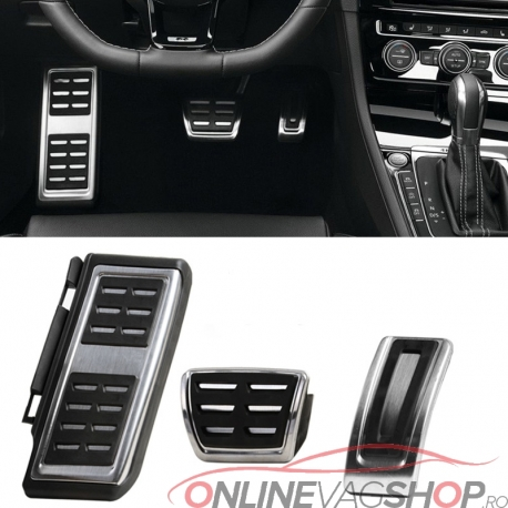 Set Pedale Inox + Footrest VW Passat B8/Skoda Superb B8