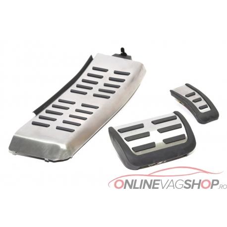Set Pedale Inox + Footrest transmisie automata Audi A6 4F /Audi Q5