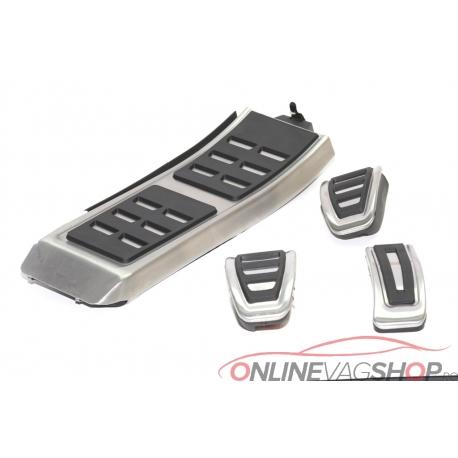 Set Pedale Inox + Footrest   Audi A4,A5,A6,A7,Q5