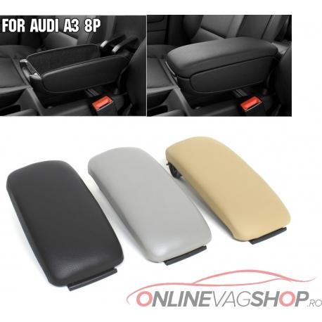 Capac cotiera piele OEM pentru Audi A3 8P