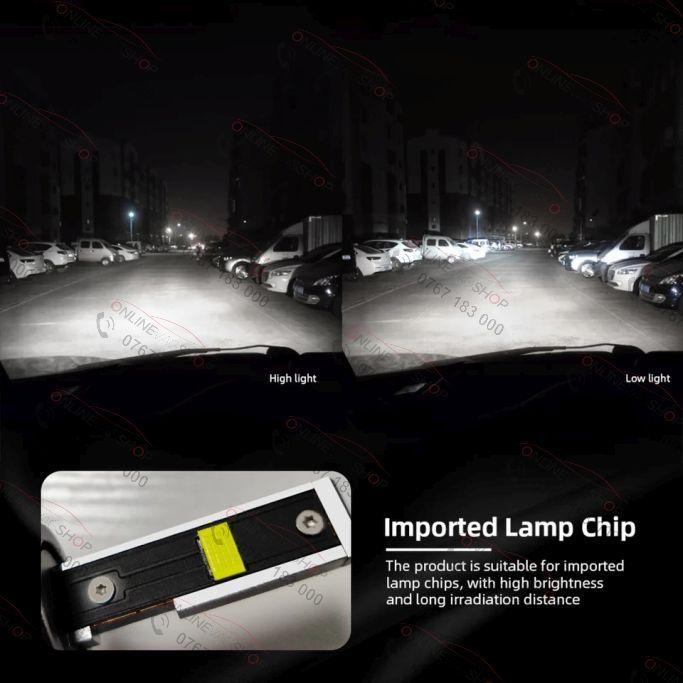 Set becuri LED  D3S ,6000K ,5000LM  Canbus