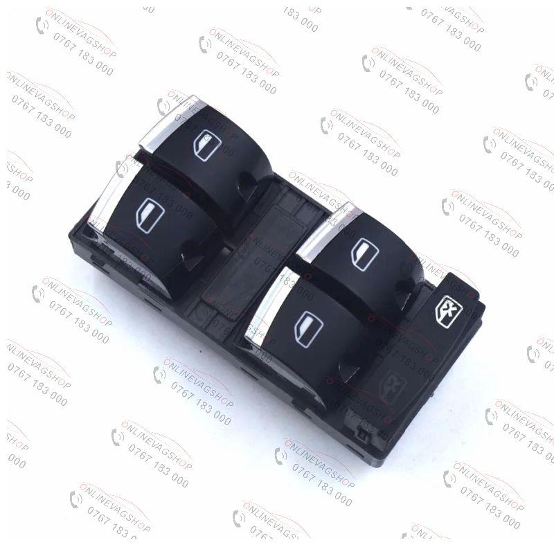 Butoane crom geamuri electrice Audi A3, A4 B6, A4 B7,A6 4F,A8 , Q7