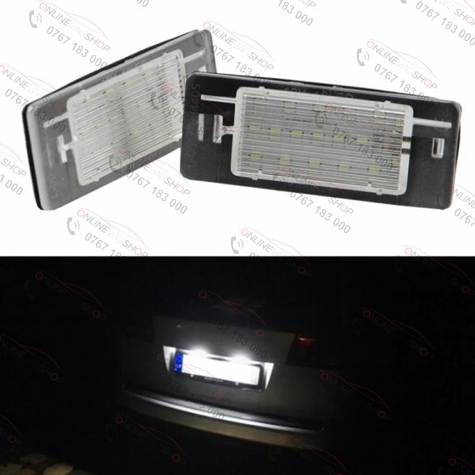 Set lampi LED numar OPEL Vectra C Estate 02-08