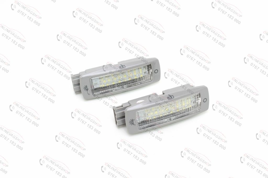 Set lampi LED plafon VW Golf, Bora, Passat, Skoda Octavia, Superb