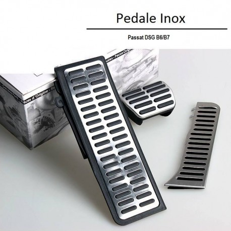 Set Pedale Inox AUTO/DSG   VW Passat B6,B7,CC