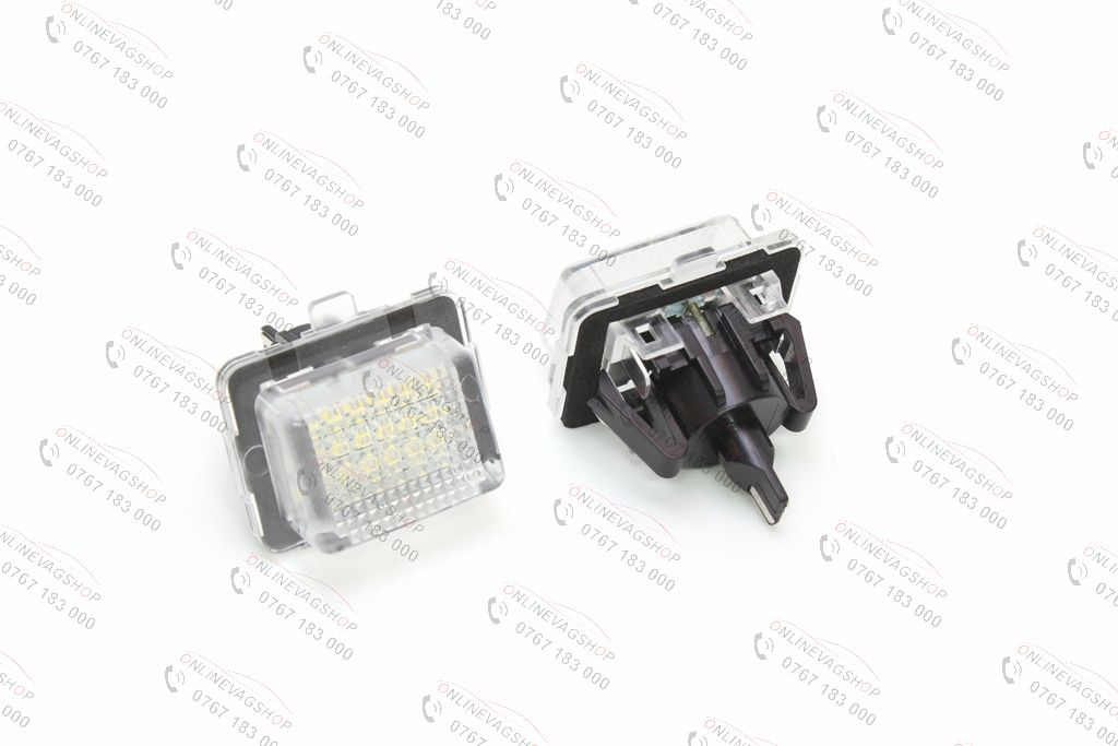 Set lampi LED numar MERCEDES BENZ W204, W205 W216, W218,W212, W221