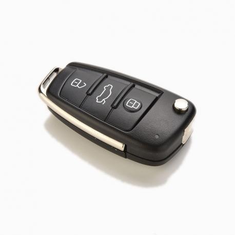 Carcasa cheie briceag 3 butoane si logo Audi pt A3/ A4/ A6/Q7