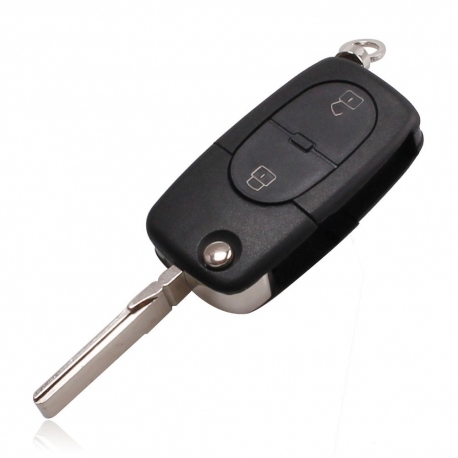 Carcasa cheie briceag cu logo VW ,SKODA, SEAT 2 butoane