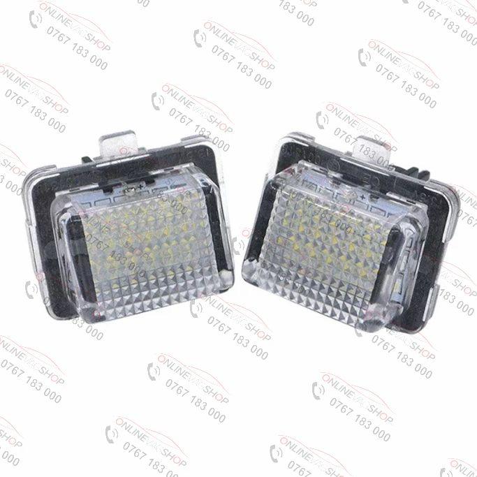 Set lampi LED numar MERCEDES BENZ W204, W204 Wagon W212, W221, C216, C207