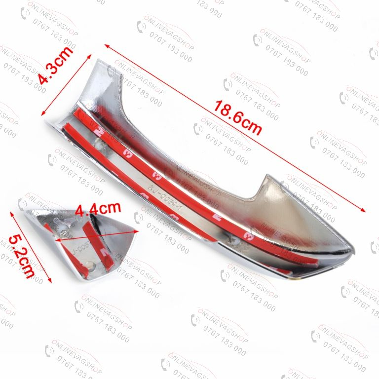 Ornamente manere cromate pentru VW Golf 6 , Skoda Superb 2