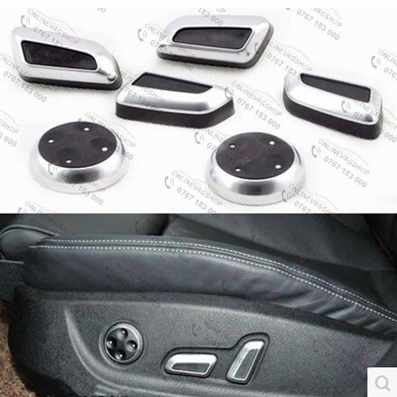 Set butoane reglaj scaun cromate pentru VW/AUDI