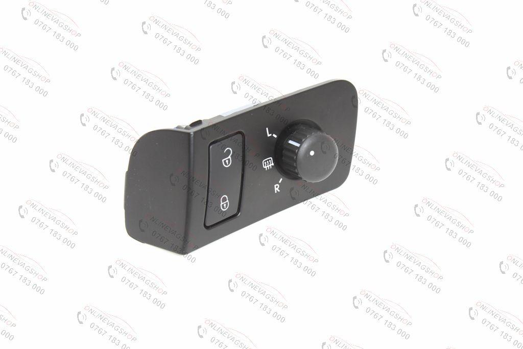 Buton reglaj oglinzi +blocare/deblocare usi VW Touran/ Caddy