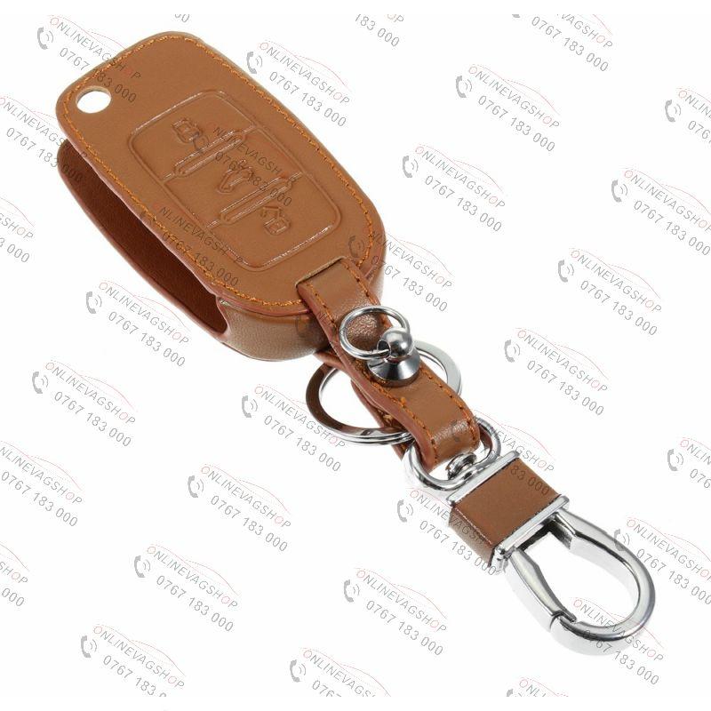 Husa piele pentru cheie VW Touran,Polo,Bora,Passat,Golf 4,5, 6,Tiguan Jetta, Scirocco
