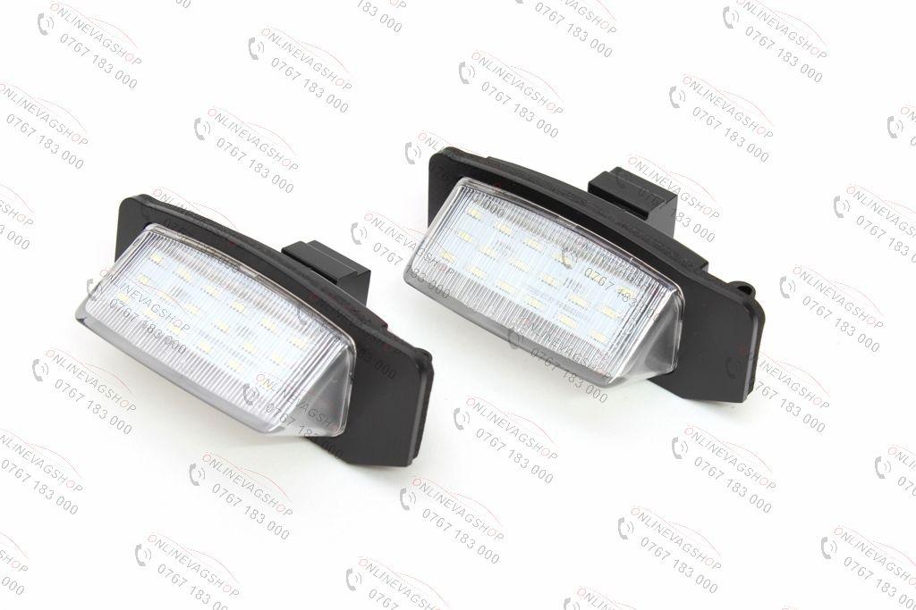 Set lampi LED numar Mitsubishi Lancer Sportback, Outlander