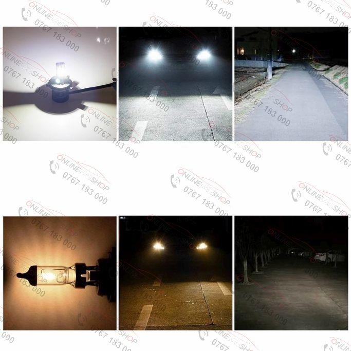 Set becuri LED H1, H4, H7, 6000LM