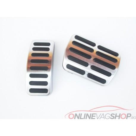Set pedale Inox AUTO pentru VW/Audi/Skoda/Seat