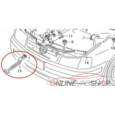 Maner/Tija deschidere capota VW Passat B5 , B5.5