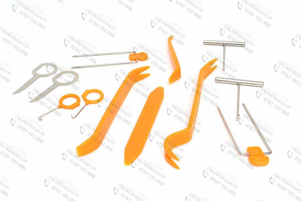 Set 12piese scule/spatule pt desfacut bordul sau elemente interior