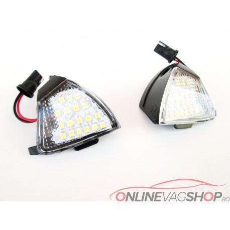 Kit lumini sub oglinzi ( puddle light ) pentru VW Golf 5,Passat B6