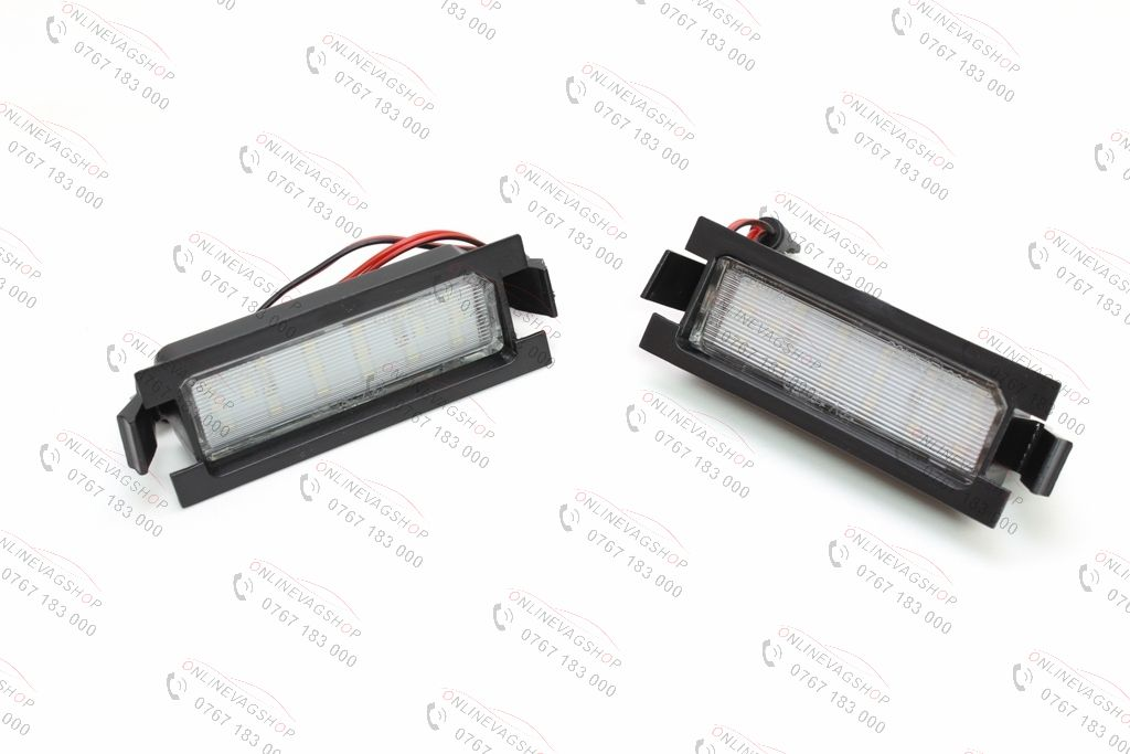 Set lampi LED numar Hyundai I30, set 2 lampi