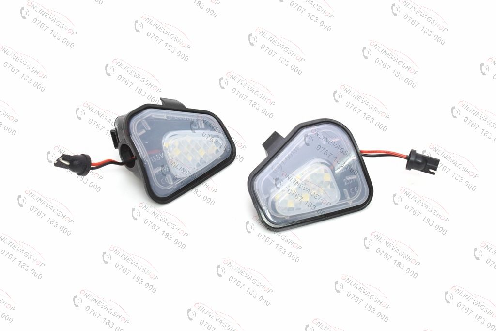 Kit lumini sub oglinzi ( puddle light ) VW Passat B7, CC, Scirocco